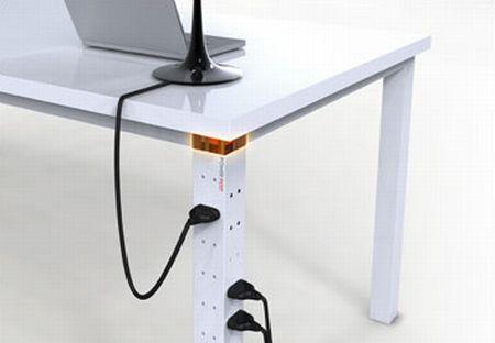 超级酷的插座桌腿