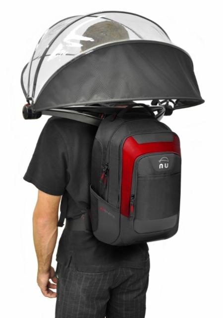 背肩式雨伞 3