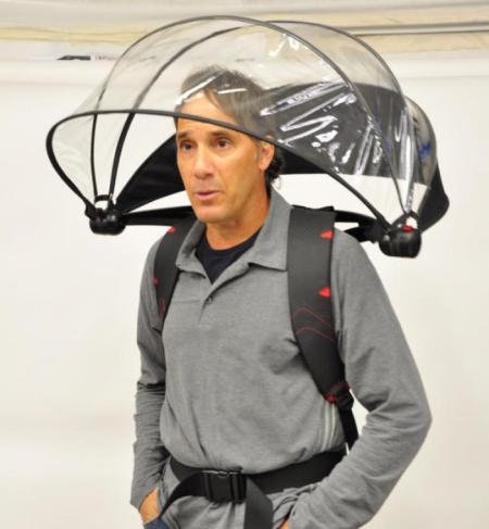 背肩式雨伞 2