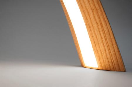 柔美的木工台灯  4