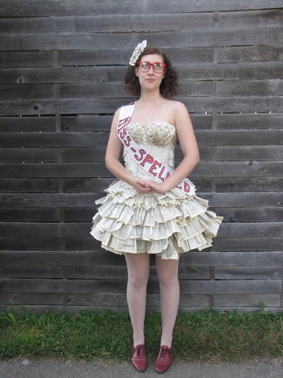 书本连衣裙 2