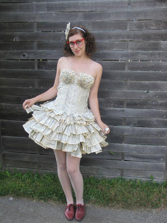 书本连衣裙 3
