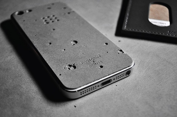 iphone5月球表面贴