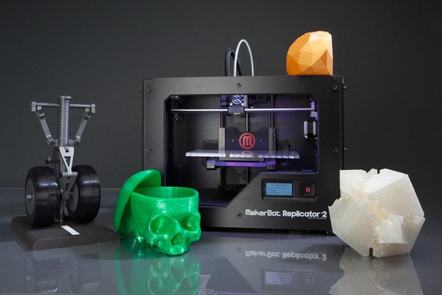 2012年十大有趣的发明--3D智能打印机