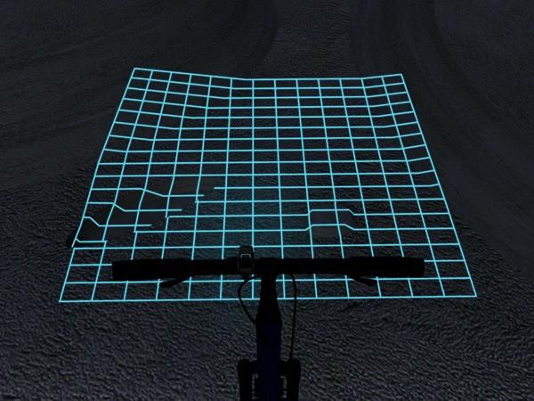 自行车光栅灯 2