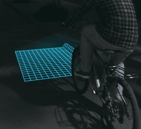 自行车光栅灯 3