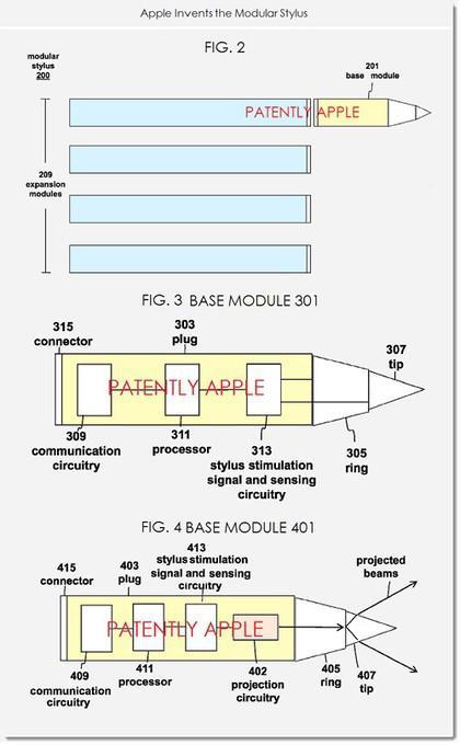 传苹果要推智慧笔 iPen草图曝光